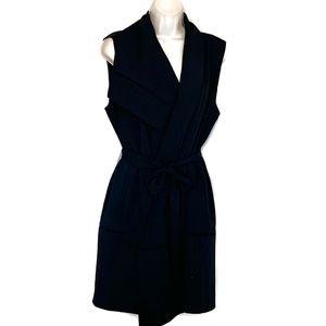 Vince Size Medium Navy Wrap Dress